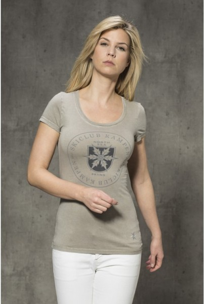 T-Shirt mit Frontprint pallet