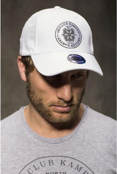 Cap weiss mit Logo
