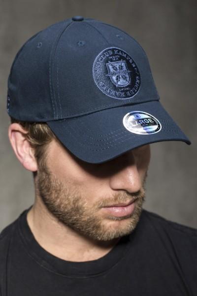 Cap dunkelblau-Logo Stoff